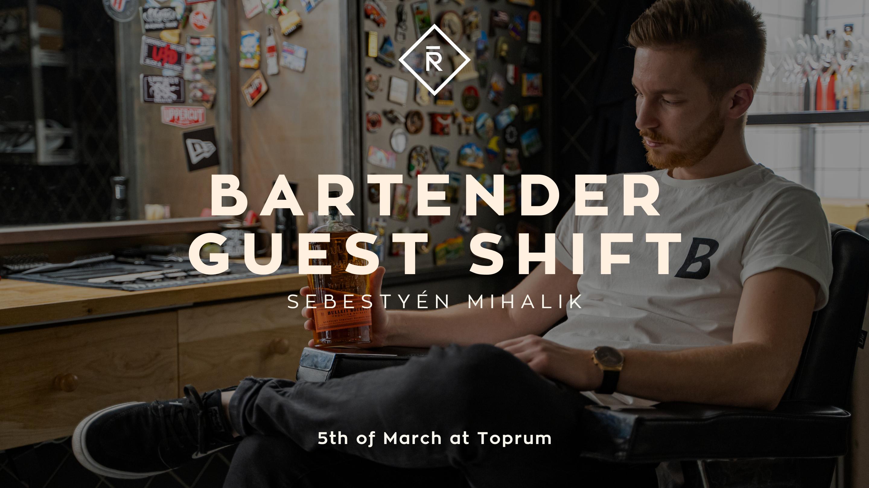 Bartender Guest Shift